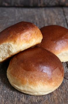 Afbeeldingen van Zachte Witte Broodjes bolletjes (per 5 stuks)